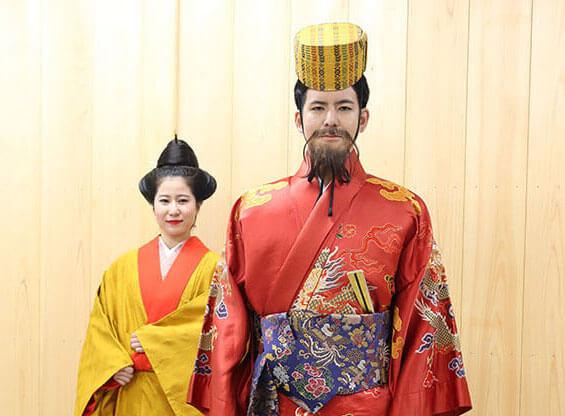 琉球王朝祭り「古式行列」参加者募集用写真