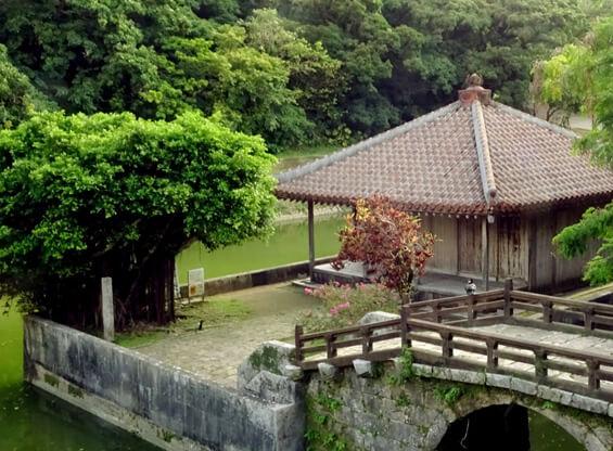 戦後の首里復興用の説明写真「円覚寺」