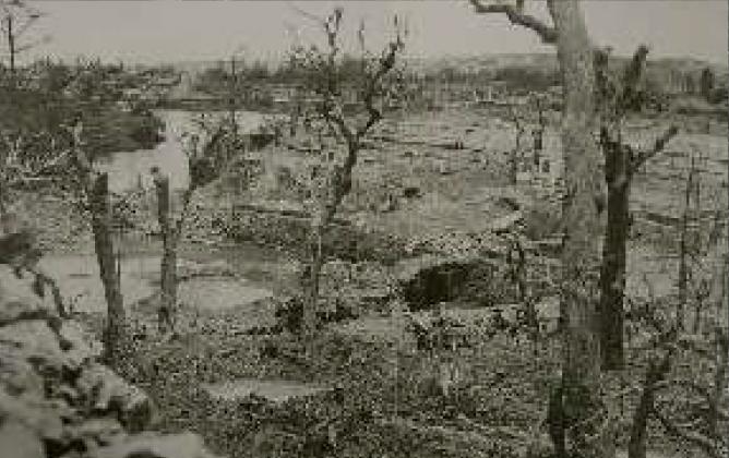 沖縄戦による災禍